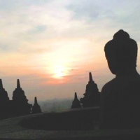 Borobudur Sunrise or Sunset