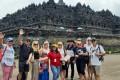 Viking Orion to Borobudur temple from Semarang Port